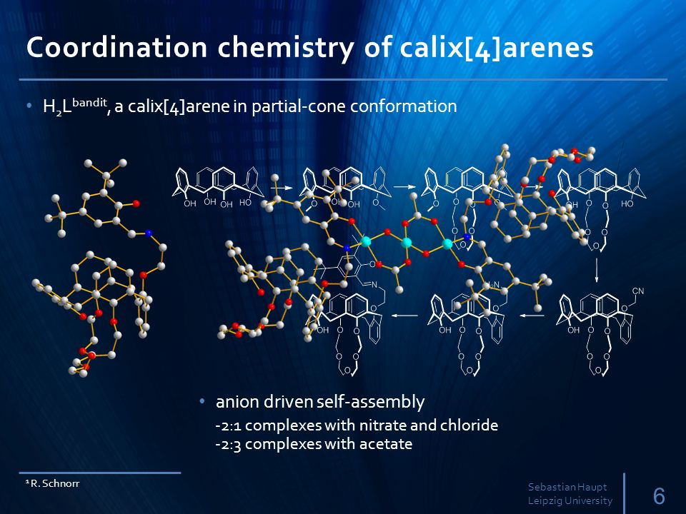 Coordination chemistry of calix[4]arenes